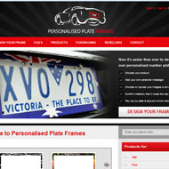 Personalized Plate Frames