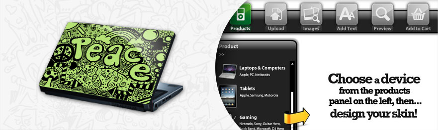Laptop Mobile Phone Skin Designer Software Tool Online