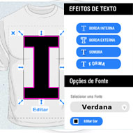 t-shirt design software text