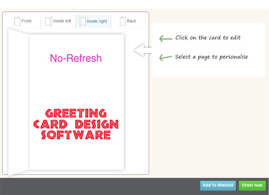 Greeting Card Design Tool