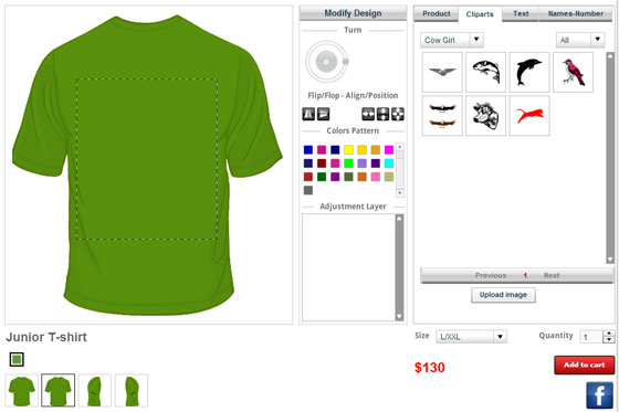Best t shirt designer software online t shirt design tool for Cheap t shirt design websites