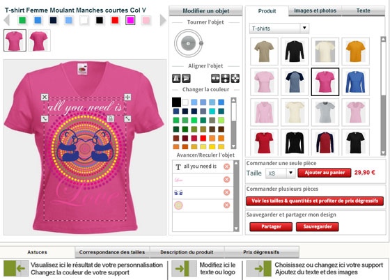 Best t shirt designer software online t shirt design tool for T shirt printing website