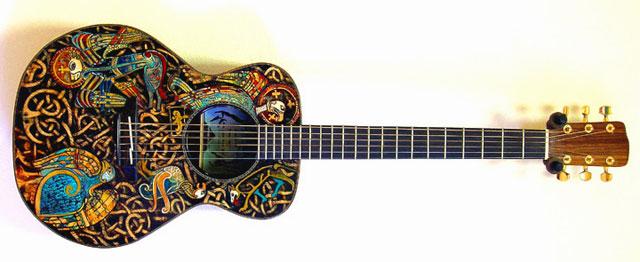 Guitar Skin Designs