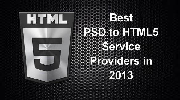 Best PSD to HTML5 Service Providers, 2015