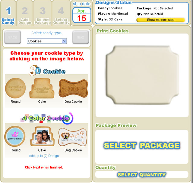 Custom Cookie Design Software: Online Cookies Decorating Tool