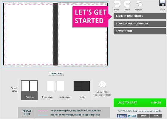 Online iPad Case Design Software
