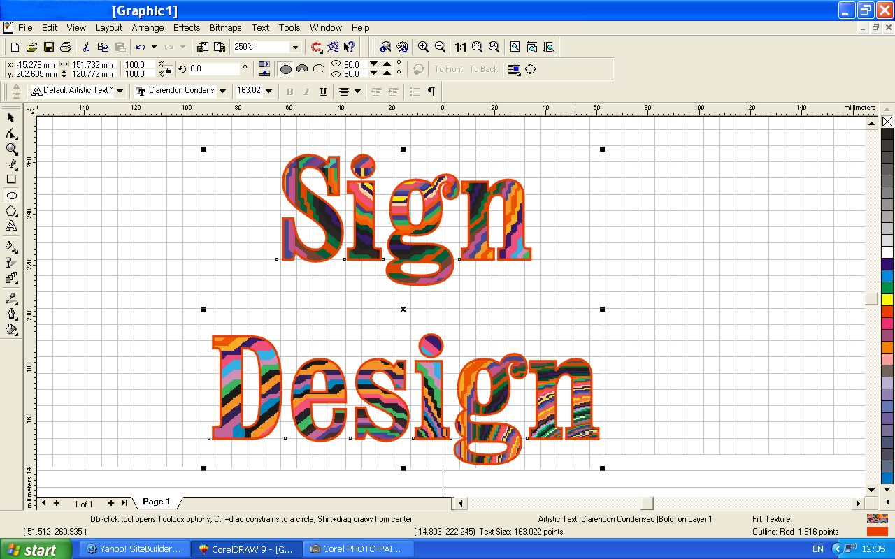Online Sign Design Tool