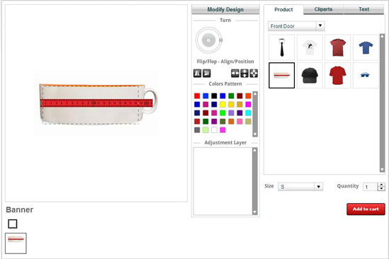 Get a feature rich online product designer tool for your Online design tool