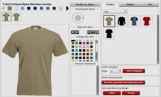 Online tee shirt design software popular trend in apparel for Custom t shirt software