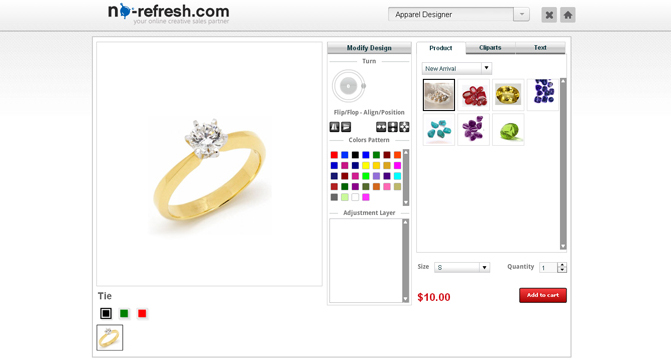 iPad Compatible Online Jewellery Design Tool: Need of Jewelers