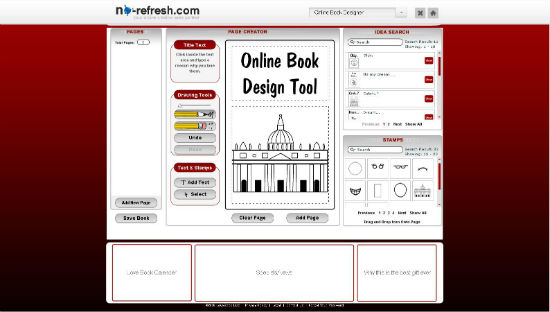Custom Book Design Tool