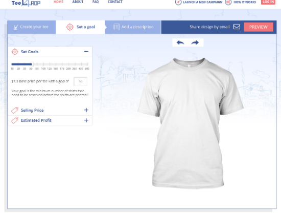 Custom Campaign T Shirts Design Tool To Raise Money By