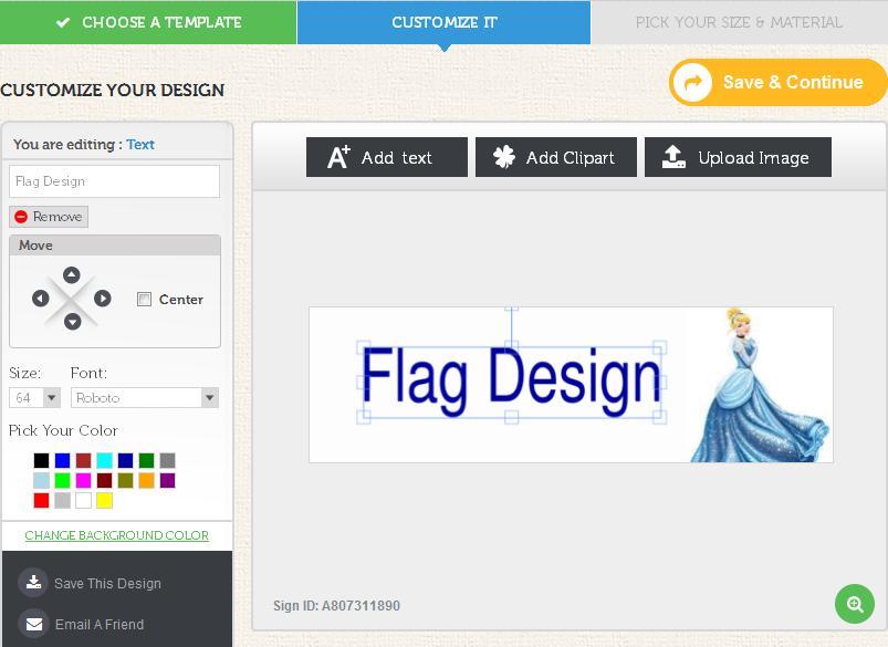 flag design tool