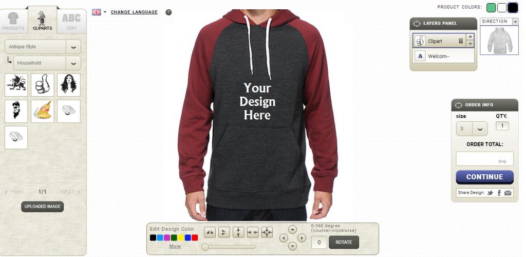 Hoodie Design Tool Software