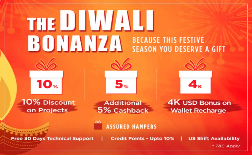 Diwali Festive Bonanza on No-refresh