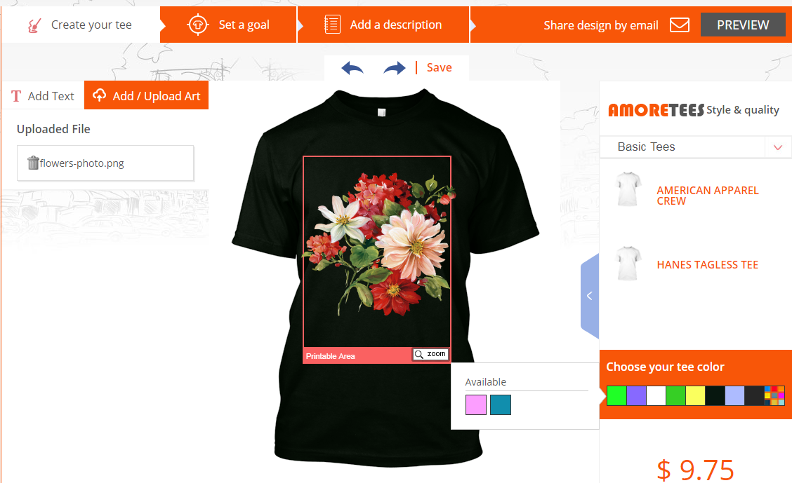 6 Vital Features Every T Shirt Design Software Must Have