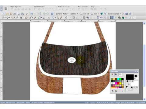 features available with a bag design software
