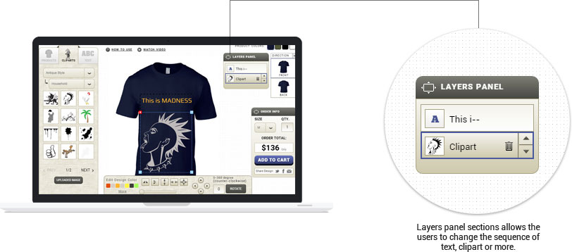 Online Shopify T Shirt Designer Tool Software App
